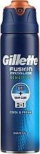 Düfte, Parfümerie und Kosmetik Rasiergel für empfindliche Haut - Gillette Fusion ProGlide Sensitive Cool & Fresh Shave Gel