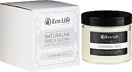 Düfte, Parfümerie und Kosmetik Soja-Duftkerze Red Rose - Eco Life Soy Wax Candles