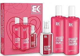 Düfte, Parfümerie und Kosmetik Haarpflegeset - Brazil Keratin Dtangler Cystine (Shampoo 300ml + Conditioner 300ml + Haarspray 100ml)