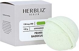 Düfte, Parfümerie und Kosmetik Badebombe Zitronengras - Herbliz CBD