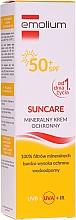 Düfte, Parfümerie und Kosmetik Mineralische Sonnenschutzcreme für Kinder und Babys SPF 50+ - Emolium Suncare Cream Mineral SPF 50+