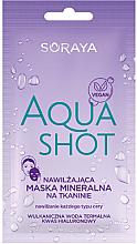 Düfte, Parfümerie und Kosmetik Feuchtigkeitsspendende mineralische Tuchmaske für alle Hauttypen - Soraya Aquashot