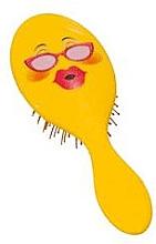 Düfte, Parfümerie und Kosmetik Haarbürste 2003W Smiley mit Brille - IDC Design XL Detangle Brush