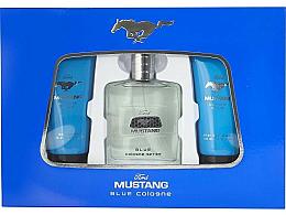 Düfte, Parfümerie und Kosmetik Ford Mustang Blue - Duftset (Eau de Toilette 100ml + Duschgel 100ml + After Shave Balsam 75ml)