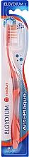Düfte, Parfümerie und Kosmetik Anti-Plaque Zahnbürste mittel orange-transparent - Elgydium Anti-Plaque Medium Toothbrush