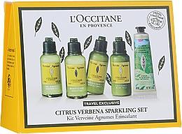 Düfte, Parfümerie und Kosmetik Körperpflegeset - L'Occitane Citrus Verbena Sparkling Set (Duschgel 50ml + Shampoo 50ml + Conditioner 50ml + Körpermilch 50ml + Handcreme 30ml)