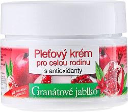 Düfte, Parfümerie und Kosmetik Gescichtscreme mit Granatapfel für die ganze Familie - Bione Cosmetics Pomegranate Facial Cream For The Whole Family With Antiox