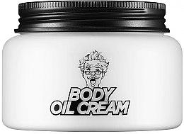 Düfte, Parfümerie und Kosmetik Feuchtigkeitsspendende ölhaltige Körpercreme mit Aqua-Butter-Komplex und Pflanzenextrakten - Village 11 Factory Relax-day Body Oil Cream