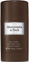 Düfte, Parfümerie und Kosmetik Abercrombie & Fitch First Instinct - Deodorant Stick für Männer
