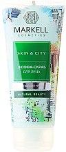Düfte, Parfümerie und Kosmetik Luffa-Peeling für das Gesicht - Markell Cosmetics Skin&City