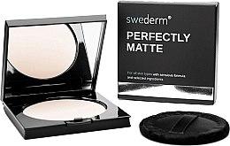 Düfte, Parfümerie und Kosmetik Mattierendes Gesichtspuder - Swederm Perfectly Matte Powder