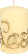 Düfte, Parfümerie und Kosmetik Dekorative Kerze creme 7x10 cm - Artman Christmas Ornament
