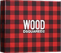 Düfte, Parfümerie und Kosmetik Dsquared2 Wood Pour Homme - Duftset (Eau de Toilette 50ml + Duschgel 50ml + After Shave Balsam 50ml)