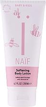 Düfte, Parfümerie und Kosmetik Aufweichende Körperlotion mit natürlichem Baumwollsamenöl für Kinder - Naif Softening Body Lotion
