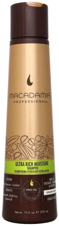 Pflegendes Shampoo mit Macadamia-Öl - Macadamia Natural Oil Ultra Rich Moisture Shampoo