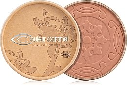 Düfte, Parfümerie und Kosmetik Bronzepuder mit Bio-Aprikosenkernöl und Bio-Kakaobutter gegen die ersten Fältchen - Couleur Caramel Cooked Powder