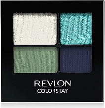 Düfte, Parfümerie und Kosmetik Langanhaltender Lidschatten - Revlon Colorstay 16 Hour Eyeshadow Quad