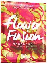 Düfte, Parfümerie und Kosmetik Erfrischende Tuchmaske für das Gesicht mit Himbeere - Origins Flower Fusion Raspberry Refreshing Sheet Mask