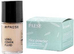 Düfte, Parfümerie und Kosmetik Gesichtspflegeset - Paese (Gesichtsfluid 30ml + Reispuder 10g)