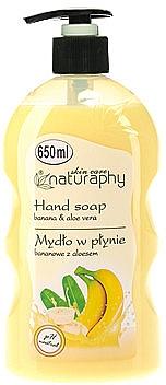 Flüssigseife mit Banane und Aloe Vera - Bluxcosmetics Naturaphy Hand Soap