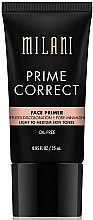Düfte, Parfümerie und Kosmetik Gesichtsprimer zur Porenverfeinerung hell/Medium - Milani Prime Correct Diffuses Discoloration + Pore-minimizing Face Primer Light/Medium