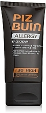 Düfte, Parfümerie und Kosmetik Sonnenschutzcreme für das Gesicht - Piz Buin Allergy Face Cream SPF30