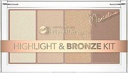 Düfte, Parfümerie und Kosmetik Highlighter- und Bronzierpalette - Bell HYPOAllergenic Highlight & Bronze Kit by Marcelina