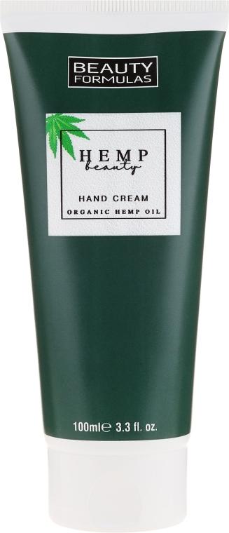 Handcreme mit Bio Hanföl - Beauty Formulas Hemp Beauty Oil Hand Cream