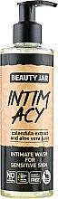 Düfte, Parfümerie und Kosmetik Intimwaschgel für empfindliche Haut - Beauty Jar Intimate Wash For Sensitive Skin