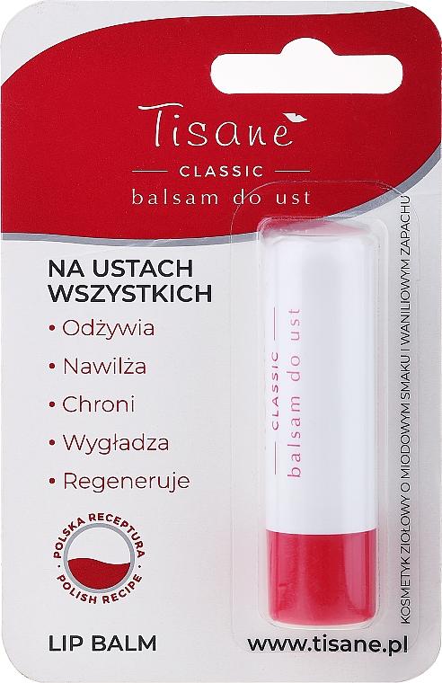 Feuchtigkeitsspendender und regenerierender Lippenbalsam - Farmapol Tisane Classic Lip Balm