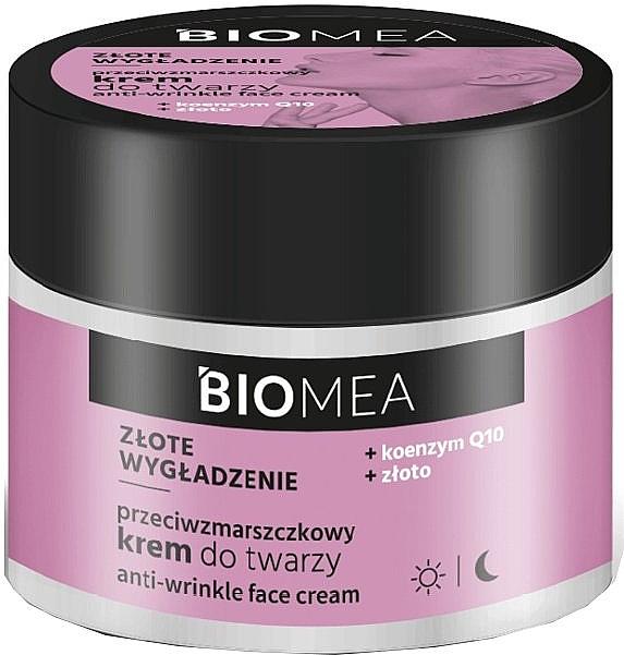 Anti-Falten Gesichtscreme mit Coenzym Q10 und Gold - Farmona Biomea Anti-wrinkle Face Cream