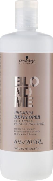 Entwicklerlotion 6% - Schwarzkopf Professional Blondme Premium Developer 6%