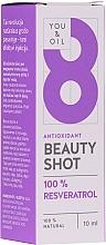 Düfte, Parfümerie und Kosmetik Gesichtsserum mit extra starkem Antioxidans - You & Oil Serum Facial N8 Antioxidante Natural Vegano Resveratrol Beauty Shot