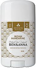 Düfte, Parfümerie und Kosmetik Natürlicher Soda Deo-Stick Indian Mandarine - Ben & Anna Natural Soda Deodorant Indian Mandarine