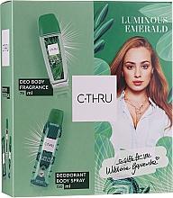 Düfte, Parfümerie und Kosmetik C-Thru Luminous Emerald - Duftset (Eau de Toilette 30ml + Deospray 150ml)