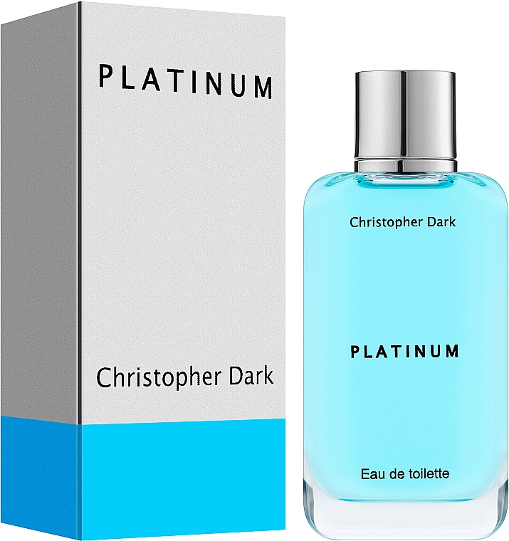Christopher Dark Platinum - Eau de Toilette — Bild N2