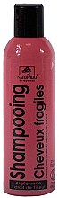 Düfte, Parfümerie und Kosmetik Haarshampoo für sprödes Haar mit Linden- und Jojoba-Extrakt - Naturado Shampooing Cheveux Fragiles