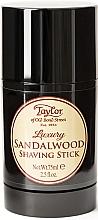Düfte, Parfümerie und Kosmetik Schützender Rasierstick mit Sandelholz - Taylor Of Old Bond Street Sandalwood Shaving Stick