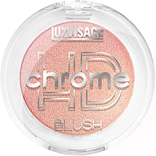 Düfte, Parfümerie und Kosmetik Gesichtsrouge - Luxvisage HD Chrome Blush