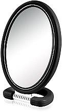 Düfte, Parfümerie und Kosmetik Doppelseitiger Kosmetikspiegel mit Ständer 9510 22,5 cm schwarz - Donegal Mirror