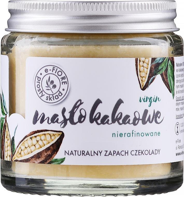 100% natürliche unraffinierte Kakaobutter für den Körper - E-Fiori 100% Natural Cocoa Butter