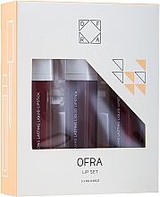 Düfte, Parfümerie und Kosmetik Ofra Espresso Lip Set (Flüssiger Lippenstift 3x8g) - Lippenset