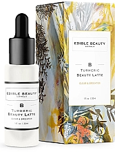 Düfte, Parfümerie und Kosmetik Aufhellendes Gesichtsserum mit Kurkuma-Extrakt - Edible Beauty Turmeric Beauty Latte Serum