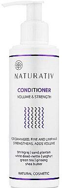 Haarspülung für mehr Volumen und Glanz - Naturativ Volume & Shine Conditioner — Bild N2