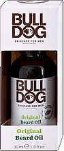Düfte, Parfümerie und Kosmetik Bartöl mit Aloe Vera, Kamelienöl und grünem Tee - Bulldog Skincare Original Beard Oil