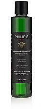 Düfte, Parfümerie und Kosmetik Haarshampoo mit Minze und Avocado - Philip B Peppermint and Avocado Volumizing and Claryfying Shampoo