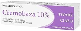 Düfte, Parfümerie und Kosmetik Beruhigende und regenerierende Creme für Gesicht und Körper mit Harnstoff - Farmapol Cremobaza 10%