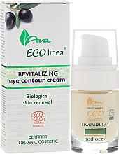 Düfte, Parfümerie und Kosmetik Regenerierende Bio Augencreme - Ava Laboratorium Eco Linea Revitalizing Eye Contour Cream