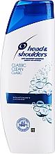 Düfte, Parfümerie und Kosmetik Feuchtigkeitsspendendes Anti-Schuppen Shampoo - Head & Shoulders Classic Clean Shampoo