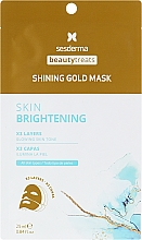 Düfte, Parfümerie und Kosmetik Anti-Aging Glänzende Goldmaske - SesDerma Laboratories Beauty Treats Shining Gold Mask